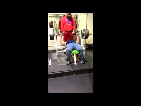 Ricky Thomas 500 lb. Bench Press Raw