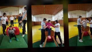 """Проект """"Моќно образовно партнерство"""" ОКР 2016- Часови по физичко образование во спортска сала"""