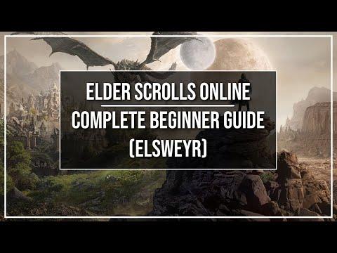 Elder Scrolls Online Complete Beginner Guide (Elsweyr Patch)