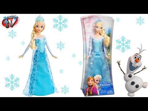 """Disney Frozen 12/"""" Mattel Elsa of Arendelle  Sparkle Doll New"""