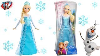 Disney Frozen: Elsa Of Arendelle Doll Toy Review, Mattel