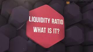 What is Liquidity - Liquidity Definition | The Concept of Liquidity