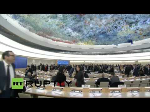 LIVE: UNHCR conference starts in Geneva