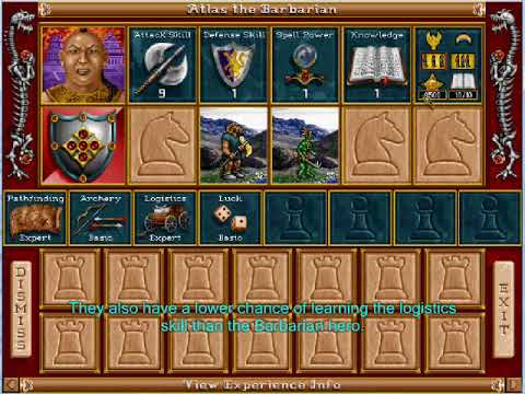 Heroes of Might and Magic 2- Archibald Campaign (Map 7)