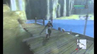 NIER (PS3) - early Lost Shrine back entrance