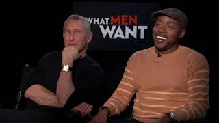 """What Men Want"" Interview With Adam Shankman And Will Packer"