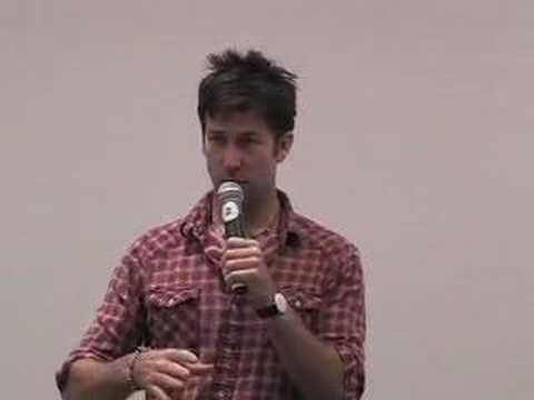 Joe Flanigan at the Stargate Atlantis Con 2007