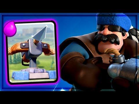 Clash Royale - XBOW HUNTER! Amazing Siege Deck