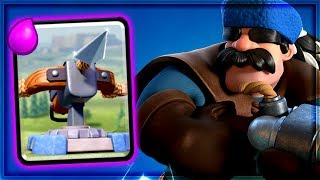 Clash Royale - XBOW HUNTER! Amazing Siege Deck
