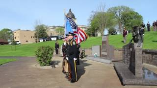 SDDOC Honor Guard at SD Law Enforcement Memorial 2015