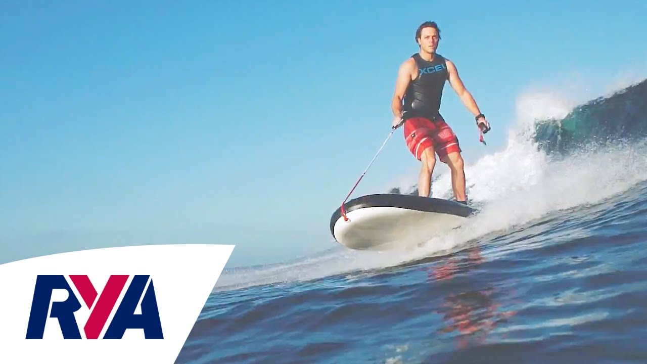 technology lampuga air 30 mph electric jet engine surf board