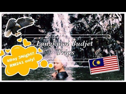 Langkawi 2019 Budjet Trip RM241|Durian Perangin | Pasar Malam Langkawi| Makam Mahsuri| Pantai Cenang