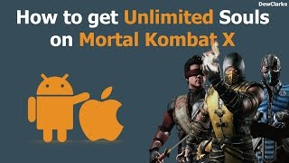 Mortal Kombat X Glitch iOS, Android Unlimited Souls (PATCHED)