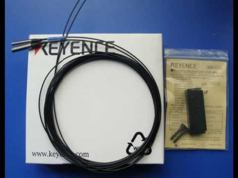 FU16 keyence optic fiber sensor YouTube – Keyence Nsor Wire Diagram