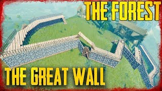 THE CASTLE WALL IS DONE - S5 EP33 | The Forest