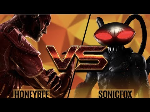 SonicFox's NEW MAIN Black Manta! SonicFox vs HoneyBee