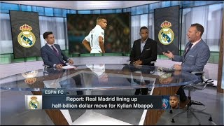 [FULL]ESPN FC 11/13|Craig Burley reacts to Real Madrid lining up half-billion dollar move for Mbappé