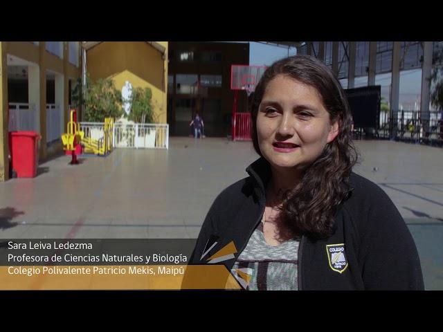 ¡Inscríbete en los Campamentos de Ciencia para Profes! Sara Leiva