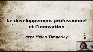 Développement professionnel et Innovation dans l'Education