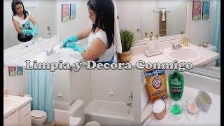 Idea Económica para decorar el Baño / Como quito el sarro de mi baño?