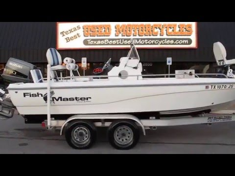 2001 Fish Master Travis Edition, Bay Fishing Boat, Model 2150, For Sale In Texas