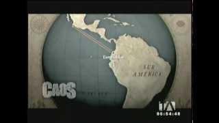 Reportaje en Teleamazonas sobre el Proyecto Caos