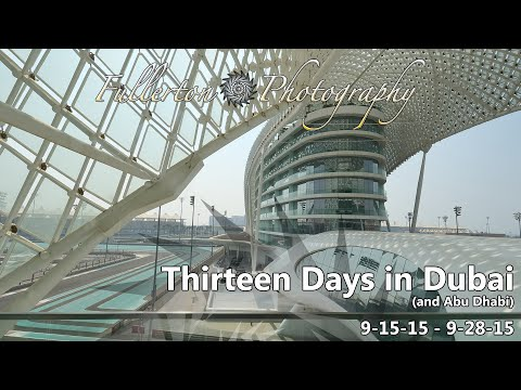 Dubai 2015 Vacation Days 0-1 - Abu Dhabi, Yas Viceroy, and Yas Island Mall