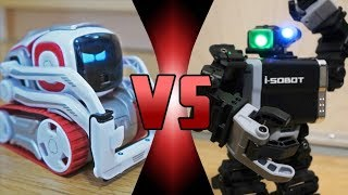 ROBOT DEATH BATTLE! - ROBOT DEATH BATTLE! - Cozmo VS i-SOBOT (ROBOT DEATH BATTLE!)