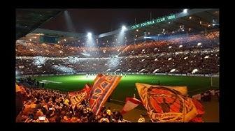 Celtic Glasgow vs RB Leipzig 2:1 Fanbattle Best Fans of the world Celtic