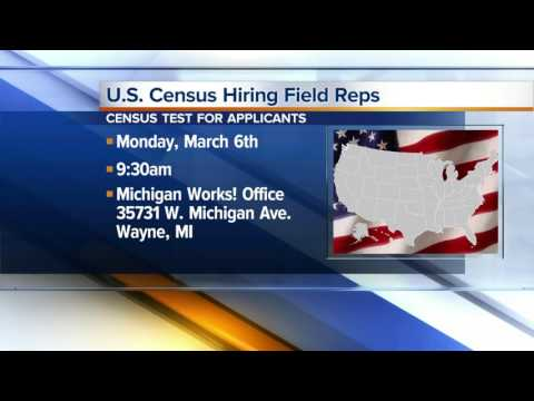 Workers Wanted: U.S. Census hiring field reps