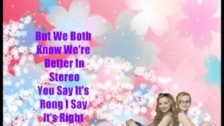 Dove Cameron-Better In Stereo Full Song(Lyrics)