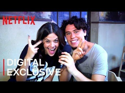 Ariel Mortman and Finn Roberts   Greenhouse Academy  Netflix