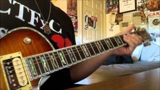 green day   kill the dj guitar cover hd  radio edit