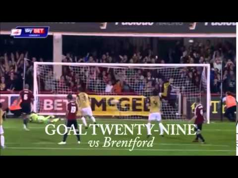 All of David Mooney's 50 goals for Leyton Orient