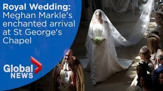 Royal Wedding: Meghan Markle arrives at...