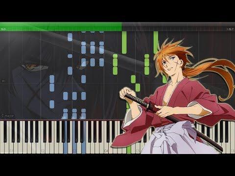 Tactics - Rurouni Kenshin ED 1| るろうに剣心 ED 1 [Piano Tutorial + Midi | Sheet]