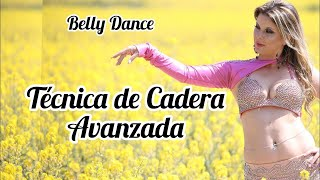 [Vídeo 19] Como mover LA CADERA súper RÁPIDO 😝 TUTORIAL BELLY DANCE