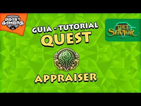 GUIA: QUEST APPRAISER - Tree of Savior | TOS
