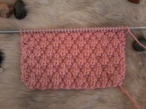 Tuto tricot   Point cloqué - YouTube 6355c45b80e