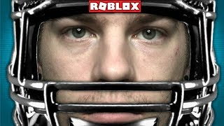 QUITTING ROBLOX TO BECOME A PRO FOOTBALL PLAYER!! (in roblox)