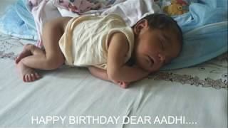 AADHI DEV 1ST BIRTHDAY