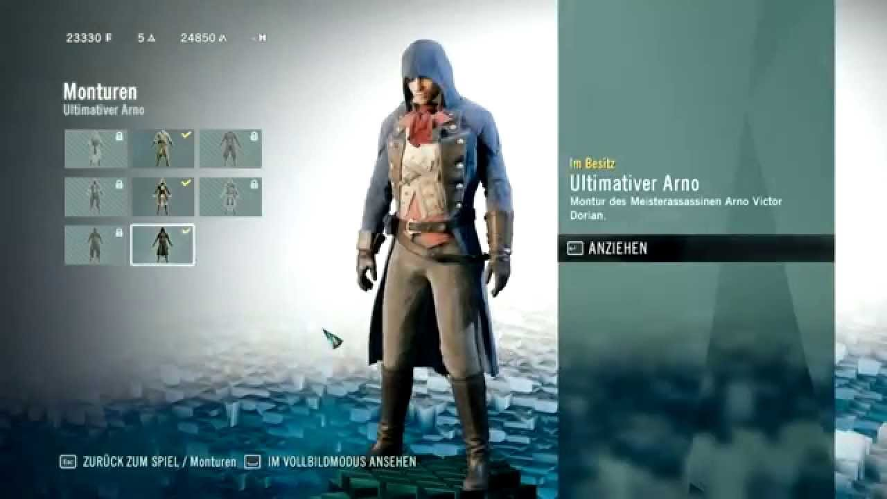 Assassin S Creed Unity How To Unlock Arno S Master Assassin