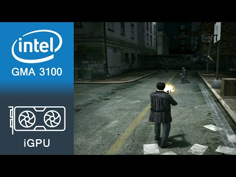Max Payne 2 The Fall Of Max Payne Gameplay Intel GMA 3100