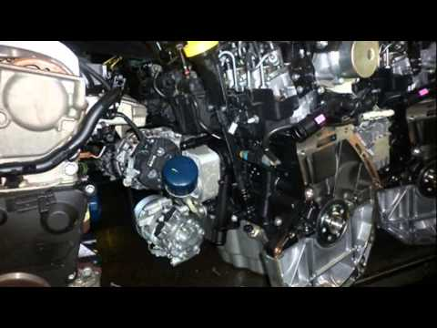 Renault 1 5 Dci Motor Youtube