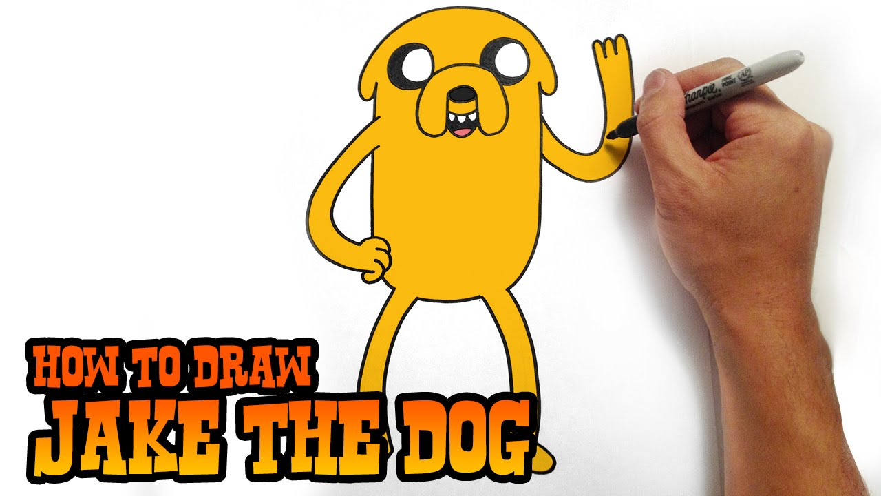 How to draw jake 51