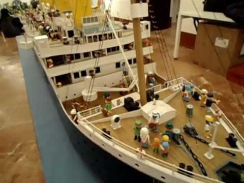 R m s titanic la maqueta m s grande del mundo par youtube - Construccion del titanic ...