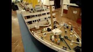 R.M.S.Titanic: la maqueta más grande del mundo para los clicks