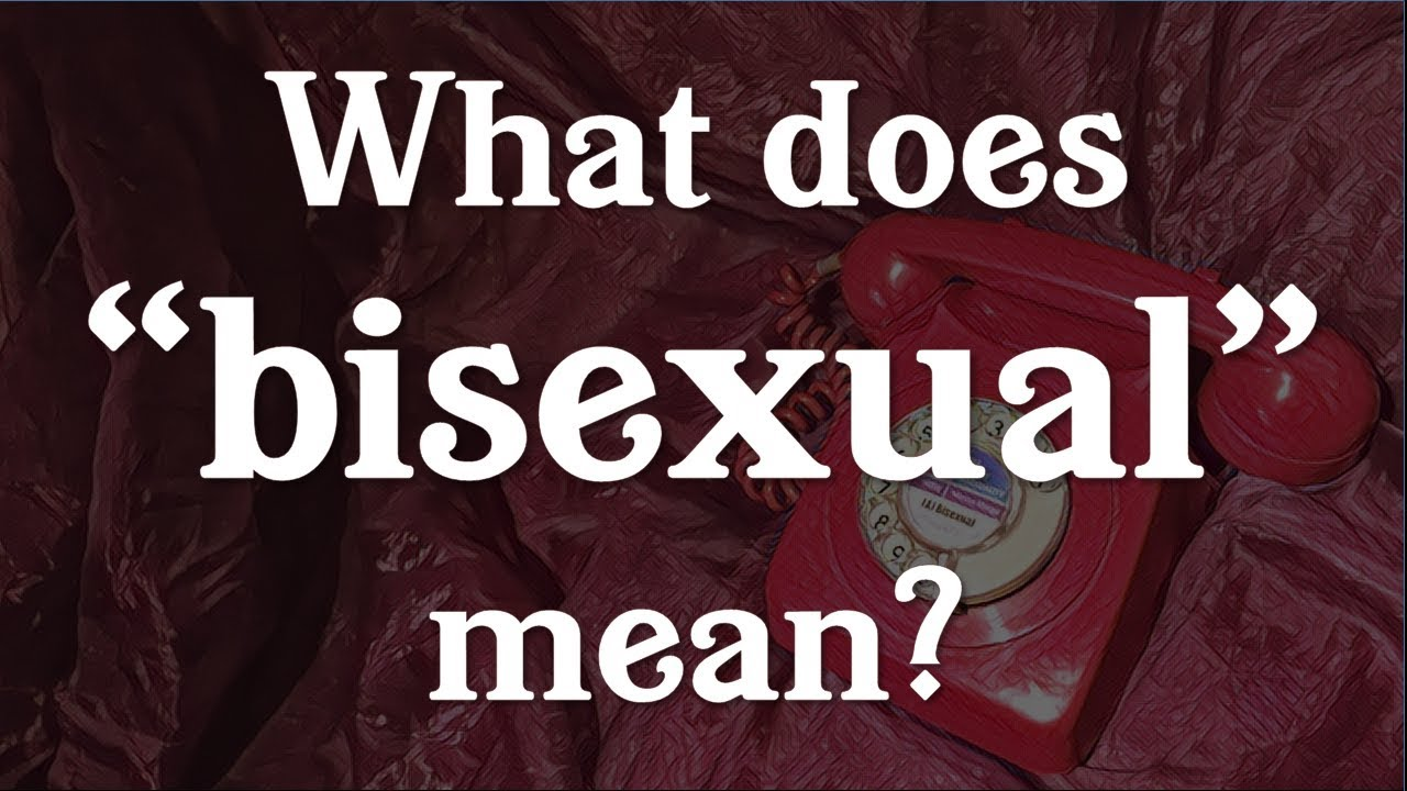 bisexually means