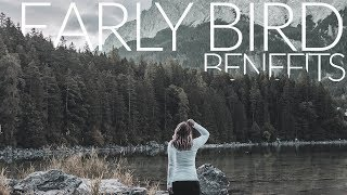 TRAVEL // Eibsee // Why you should become an early bird!