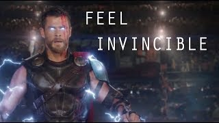 Thor Ragnarok    Feel Invincible